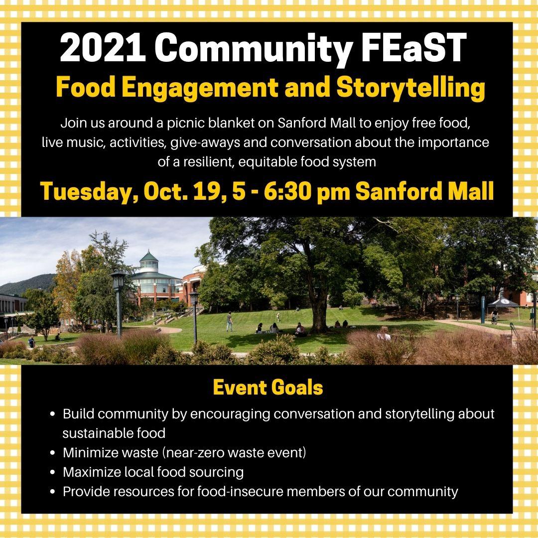2021 Community Feast Flyer