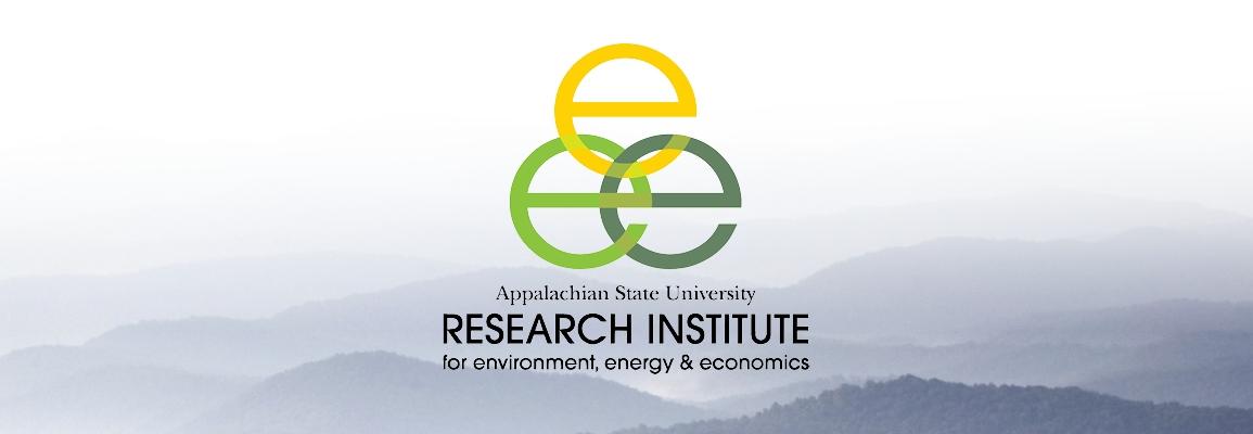 RIEEE logo over foggy mountain vista