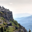 Visitors at Grandfather Mountain State Park